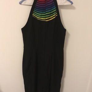 Valentino Dresses - Valentino black halter dress size 4